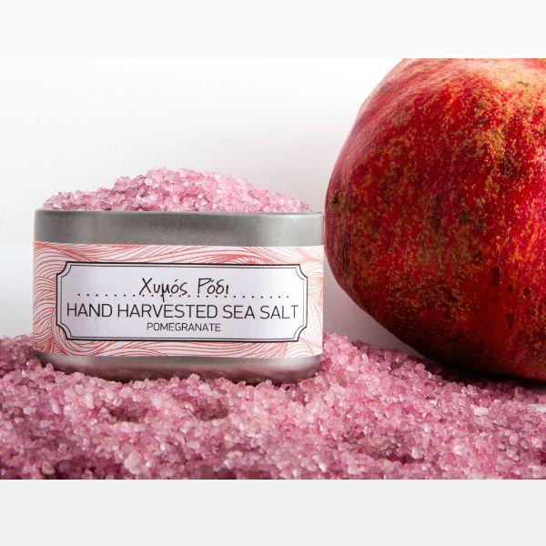 Natural Greek Sea Salt Pomegranate