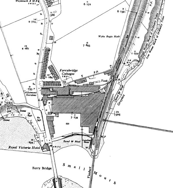 12 best Weymouth and Portland old maps images on Pinterest