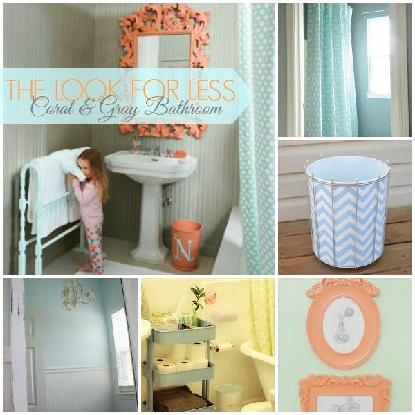 Best Bathroom Theme Ideas Ideas On Pinterest Kids Beach - Coral bath towels for small bathroom ideas