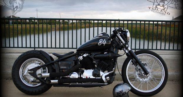 yamaha v-star 650 bobber | tail end customs | bikerMetric