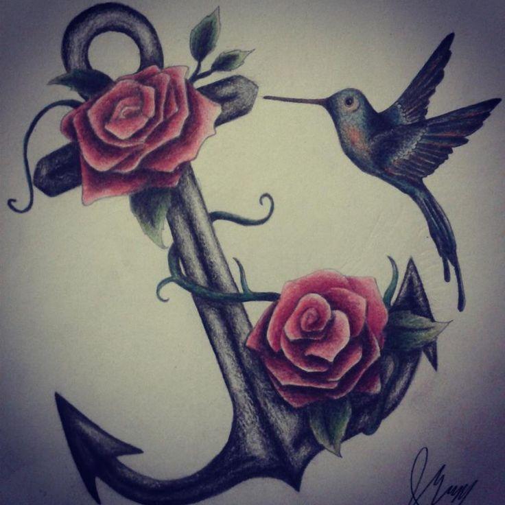 1000  ideas about Feminine Anchor Tattoo on Pinterest | Anchor Tattoos ...