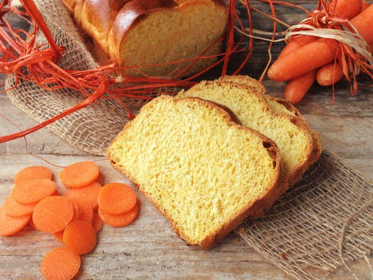 Pan brioche alle carote