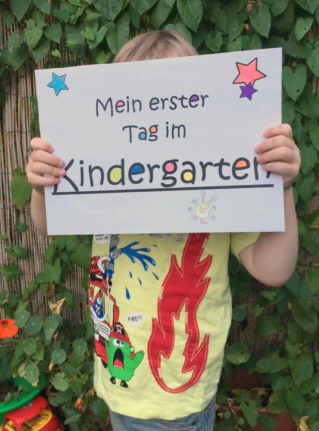 Der erste Tag im Kindergarten #kindergarten #firstdayofkindergarten