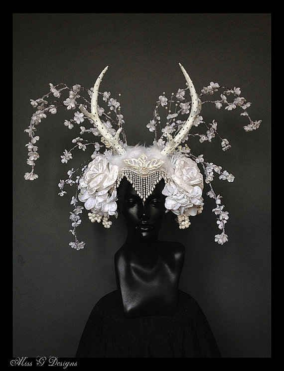 THIS ONE RIGHT HERE. | This Artist Makes The Coolest Headpieces Ever