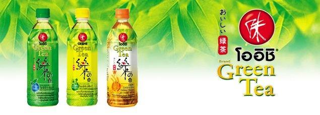 Oishi Green tea from Thailand