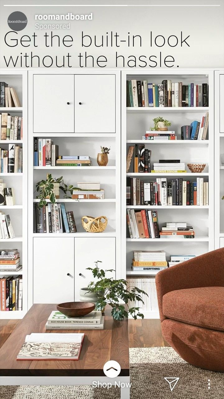 Room And Board Woodwind Bookcases With Images Bookshelf Plans Simple Bookshelf Bookcase Design