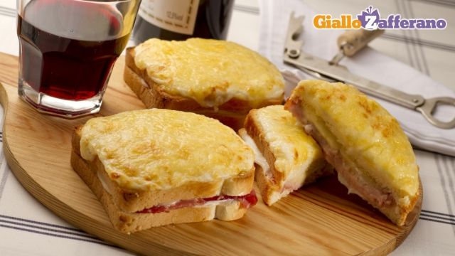 Croque monsieur by Giallo Zafferano