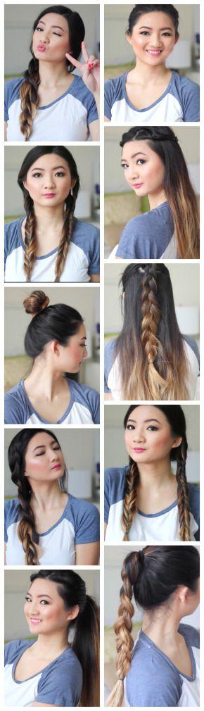 Marvelous 1000 Ideas About Quick School Hairstyles On Pinterest Easy Short Hairstyles Gunalazisus