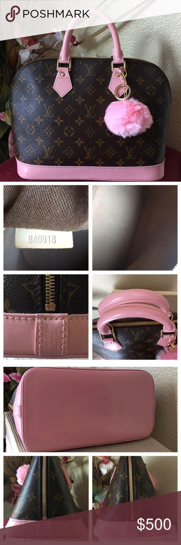 Spotted while shopping on Poshmark: SOLD! Authentic Louis Vuitton Alma PM! #poshmark #fashion #shopping #style #Louis Vuitton #Handbags