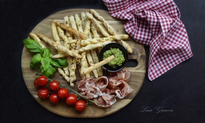 Italské chlebové tyčinky Grissini / Paleo