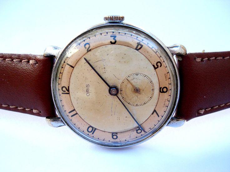 Antique Watch Swiss ORIS Military