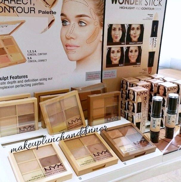 Spotted: NEW Nyx Conceal, Correct, Contour Palettes and Tinted Brow Mascaras