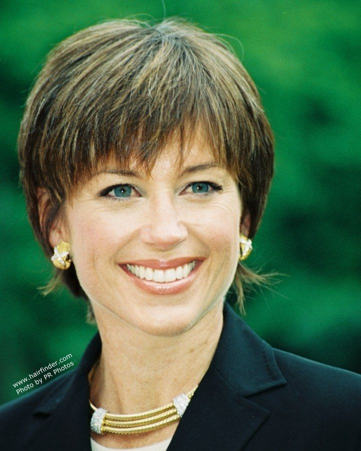 Short Wedge Hairstyles | Dorothy Hamill Wedge Haircut Instructions | Short Hairstyle 2013