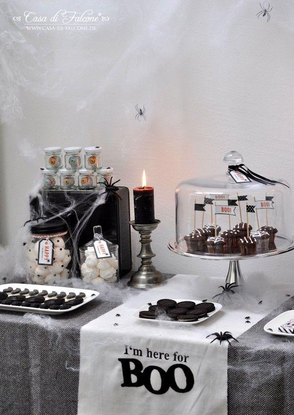 Halloween Sweet Table I Halloween free printable I Casa di Falcone