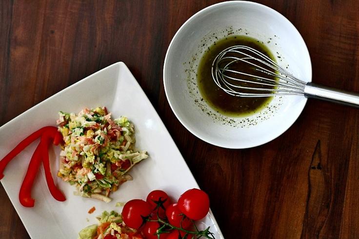 Surówka z kapusty pekińskiej   Chinese cabbage salad