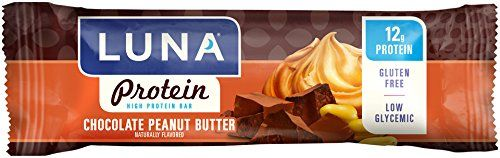 LUNA PROTEIN - Gluten Free Protein Bar - Chocolate Peanut Butter - (1.59 oz, 12 Count)(Packaging may vary) - http://alternative-health.kindle-free-books.com/luna-protein-gluten-free-protein-bar-chocolate-peanut-butter-1-59-oz-12-countpackaging-may-vary/