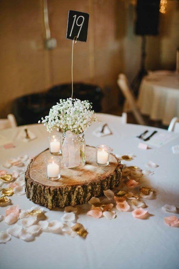 Bono Wood Center Piece Rustic Barn Wedding Decorations Unique Rustic Wedding Barn Wedding Decorations