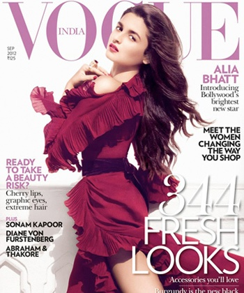 Alia Bhatt debuts in fashion world as Vogue's cover girl!