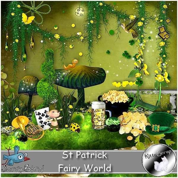 kit st patrick fairy world by kittyscrap