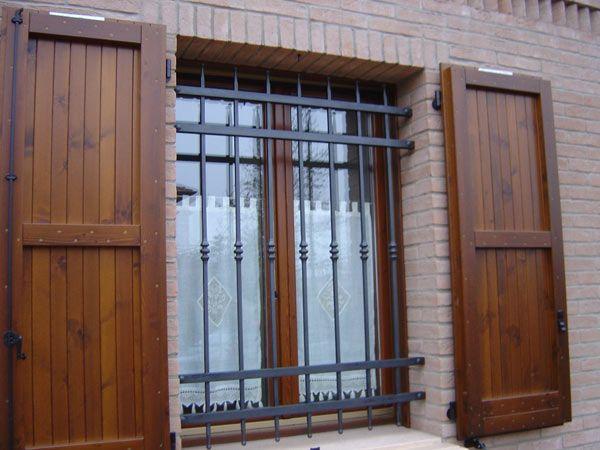 inferriate di sicurezza fissi per porte finestre reggio emilia