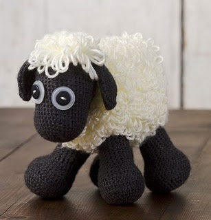 free pattern - it's Shawn the Sheep! Not a hat but i had to pin!!!!!!!