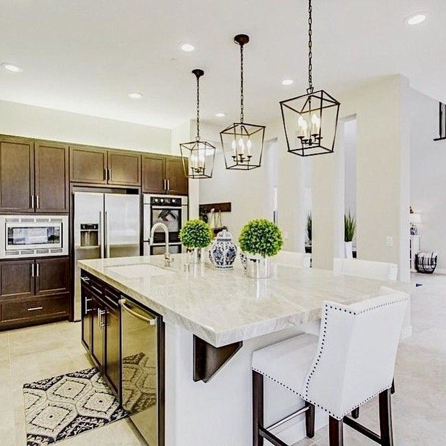 21 Awesome Kitchen Lighting Ideas In 2020 Kitchen Island Lighting Kitchen Lighting Design Simple Kitchen