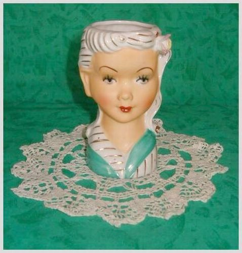 Pretty  Lady Vintage Headvase