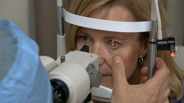 """Millions of Americans use reading glasses every day, but a new procedure could eliminate the need for some people. """"I had to put reading glasses on for every near task and reading glasses are traditionally never where you want them to be,"""" Glenn said. Dr. Andrew Holzman, an ophthalmologist at the TLC Laser Eye Center in Rockville, Maryland, performed the KAMRA inlay surgery on Glenn."""