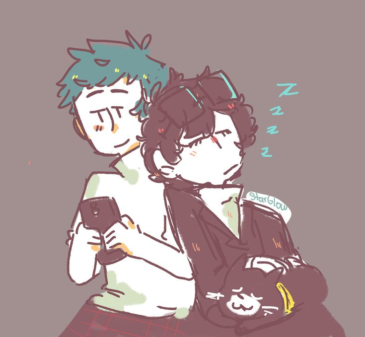 Mishima Yuuki, Kurusu Akira, Persona 5 Protagonist, Morgana  http://star-glow.tumblr.com/post/161165703866/morgana-go-to-fucking-sleep-already