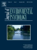 View Journal of Environmental Psychology Articles
