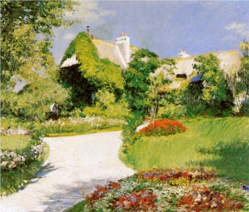 Farmer's House in Trouville - Gustave Caillebotte, 1882, Art Institute of Chicago, Chicago, USA