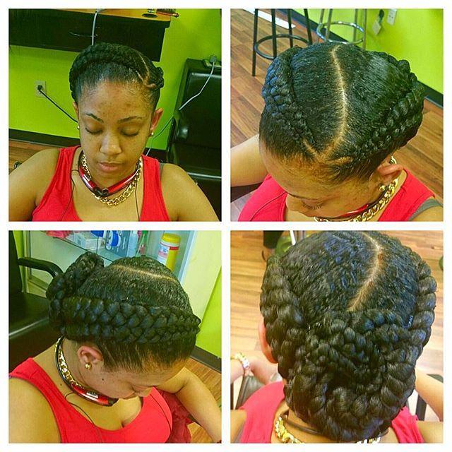 latest ghana weaving hairstyles (2) http://maboplus.com/stunning-ghana-weaving-styles-for-ladies/