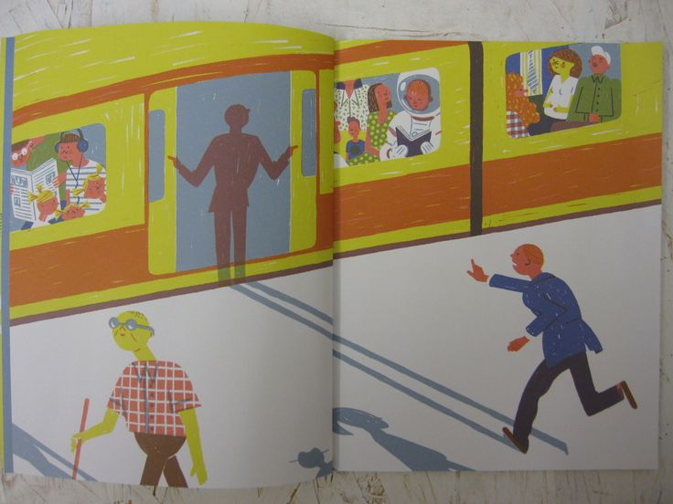 Vorrei essere già sulla metro a fianco dell'astronauta che legge, forse anche lui si sente come me su un altro pianeta. Sono in ritardo già il primo giorno.