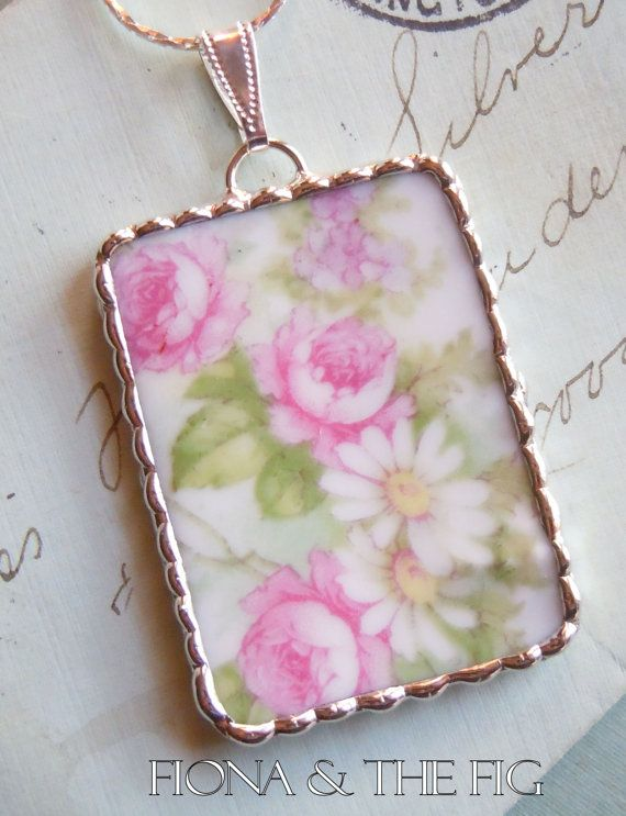 Jewelry pendant solder french Limoges china Etsy