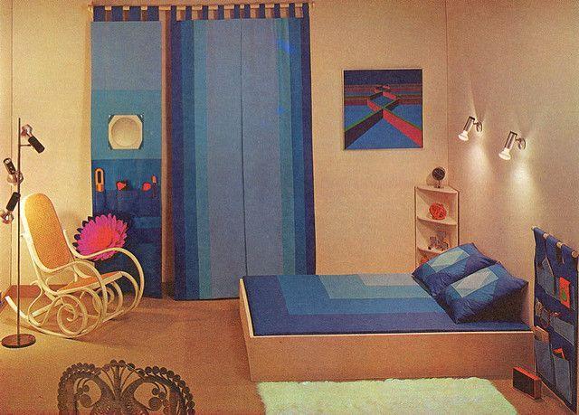 1970s Bedroom