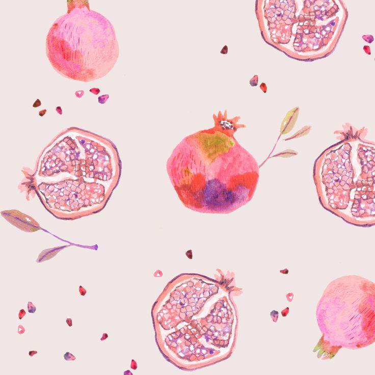 Miji Lee - Pomegranates