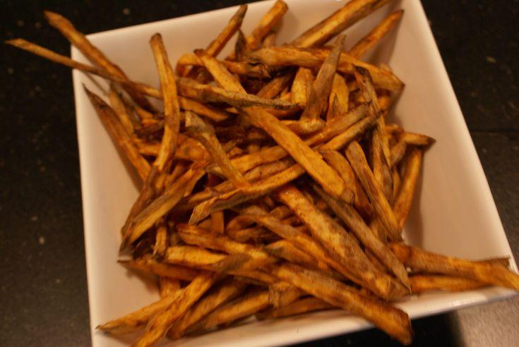 Zoete aardappelfriet uit de Airfryer