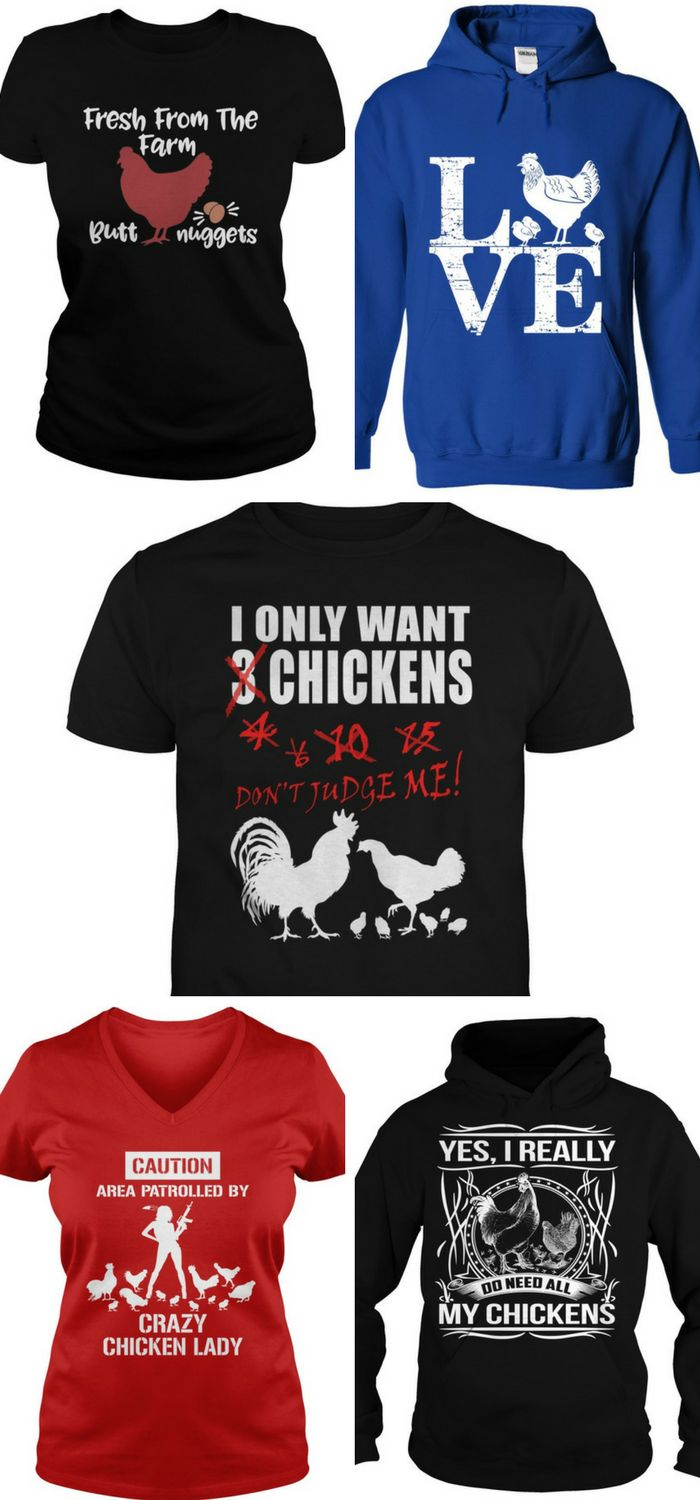 Backyard Chicken lovers - get your chicken t-shirts here!