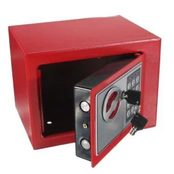 เก็บเงินปลายทาง  Electronic Safe Box Digital Security Keypad Lock Office Home HotelUS Red - intl  ราคาเพียง  1,358 บาท  เท่านั้น คุณสมบัติ มีดังนี้ Hidden lock with two keys Felt padding included to protect delicate items. Mounts to the wall or floor. 2 anchor bolts are included. Requires 4 AA batteries (included)