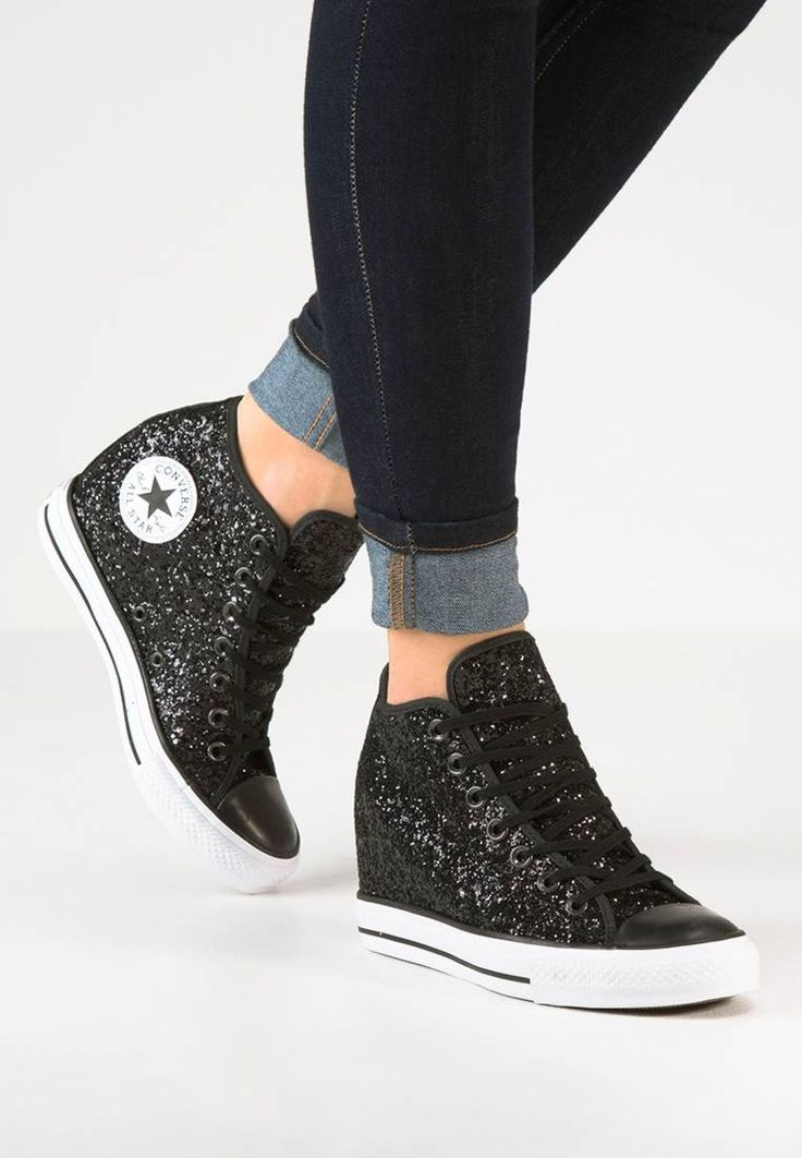 Converse. CHUCK TAYLOR ALL STAR MID LUX - Sneakers alte - white ...