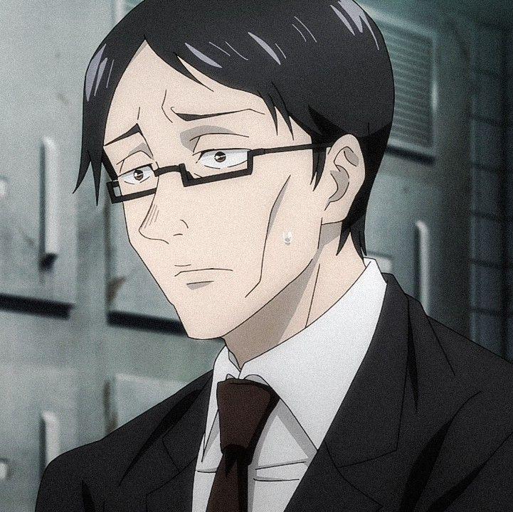 Ijichi Kiyotaka Jujutsu Anime Drawings Anime Art