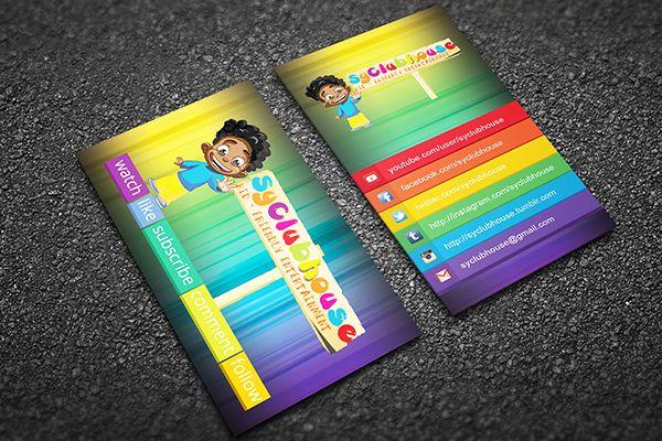 Children card.