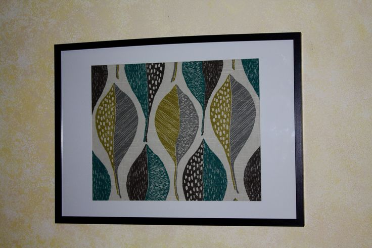 Woodblock Leaf Rain By: Robert Allen Frame Size: 70cm x 50cm (Also available in 90cm x 60cm)