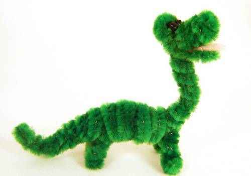Pipe Cleaner Dinosaur - Henry - TOYS, DOLLS AND PLAYTHINGS