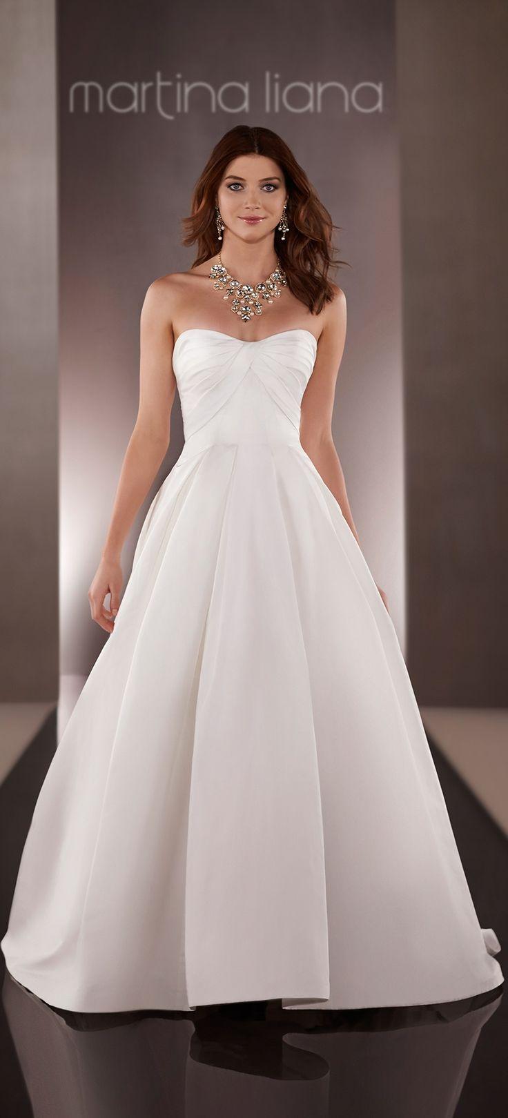 426 best wedding dresses dress up dreams images on pinterest pretty wedding dress by martina liana ombrellifo Gallery
