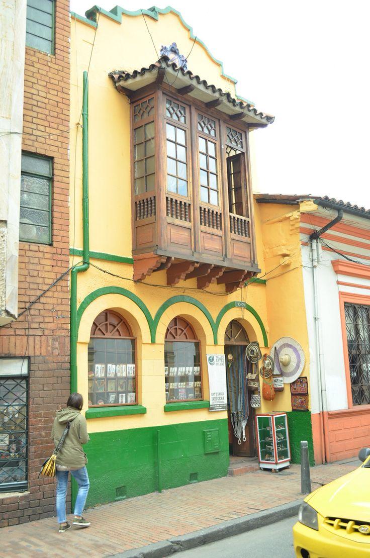 Barrios la Candelaria -Bogotá  Foto by Vero Aristizabal