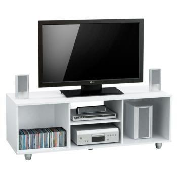 Compra tu Mesa para LCD de Melamina Blanco MT4000BL en cuotas con tarjetas de crédito de todos los bancos en Garbarino.