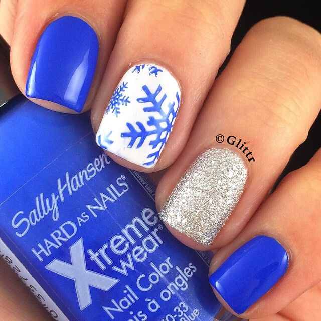 White Nail Polish In Winter: 1000+ Ideas About Royal Blue Nails On Pinterest