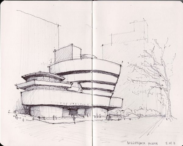 Modern Architecture Sketches 1363 best 3d hand drawn architectural images on pinterest