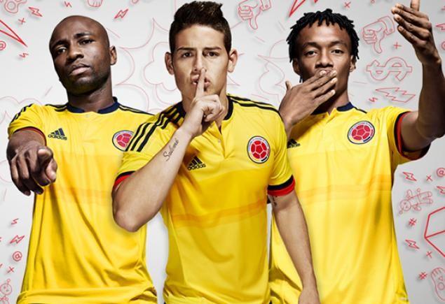 Camiseta Selección Colombia Copa America Chile 2015